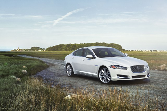 La Jaguar XF 3.0 TI 2015... (PHOTO FOURNIE PAR JAGUAR)