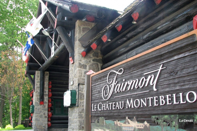 Le Château Montebello... (Archives, LeDroit)