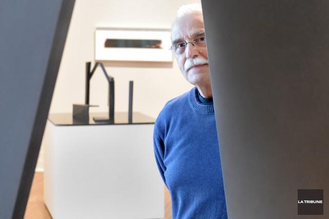 Les oeuvres récentes de Roland Poulin seront à... (IMACOM, Maxime Picard)