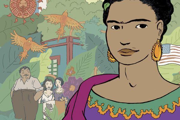 La BD que voue l'auteur belge Jean-Luc Cornette à la peintre mexicaine Frida...