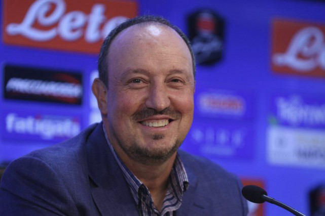 Rafael Benitez... (Photo Cesare Abbate, archives AP)