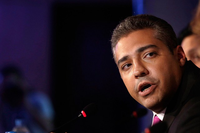 Le journaliste canadien, Mohamed Fahmy, est accusé notamment de... (Photo Hassan Ammar, archives PC)