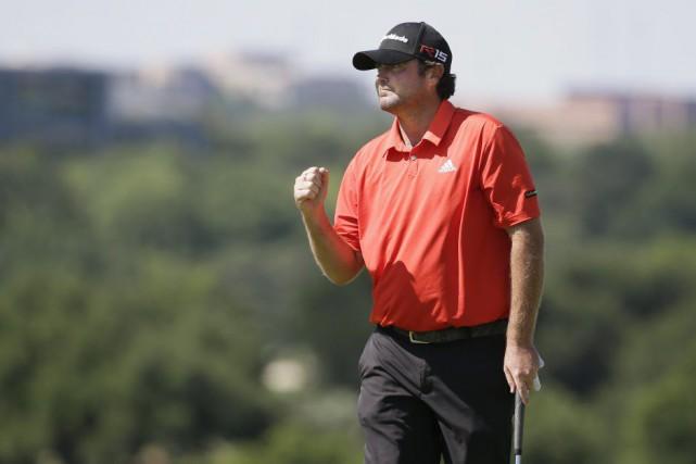 Steven Bowditchest devenu le septième golfeur dans l'histoire... (PHOTO LM OTERO, AP)