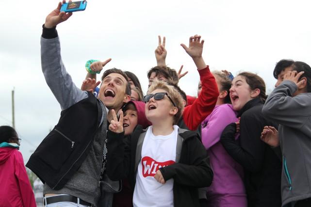 Pascal Morrissette a fait plaisir à ses jeunes... (Photo fournie)