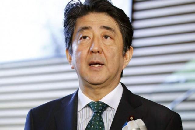 Shinzo Abe... (PHOTO REUTERS)