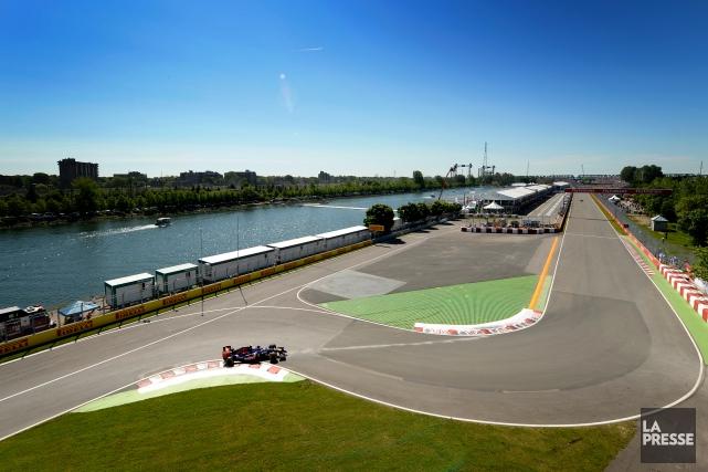 Le circuit Gilles-Villeneuve.... (PHOTO BERNARD BRAULT, ARCHIVES LA PRESSE)