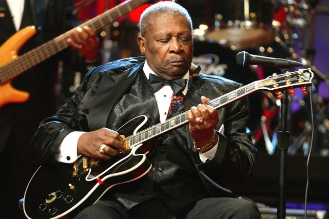 Riley «Blues Boy» King en 2003.... (Photo: archives Getty Images)
