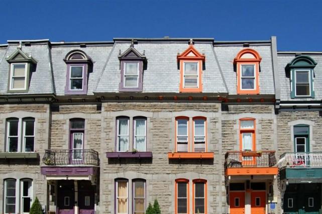Lorsque des maisons sont jumelées ou en rangée, il arrive que le problème de... (Photo Thinkstock)