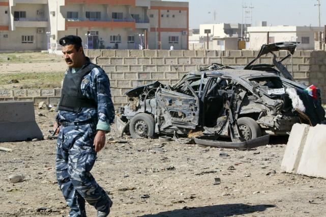 Au moins 37 personnes ont été tuées lundi... (PHOTO MARWAN IBRAHIM, ARCHIVES AFP)