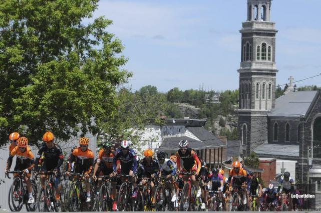 La dernière étape du grand prix cycliste de... (Michel Tremblay, Le Quotidien)