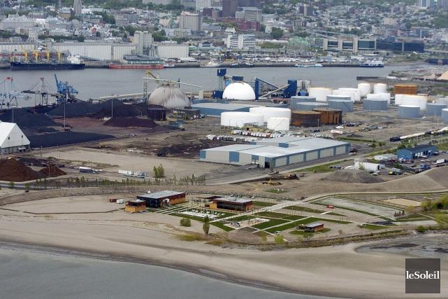 Le Port de Québec n'a toujours pas signé... (Photothèque Le Soleil, Erick Labbé)