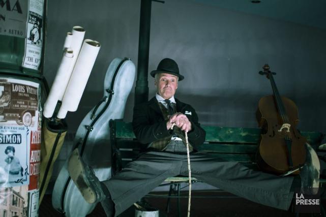 Passionné de Charlie Chaplin, Pierre Mayer a étudié... (Photo: Olivier Pontbriand, La Presse)