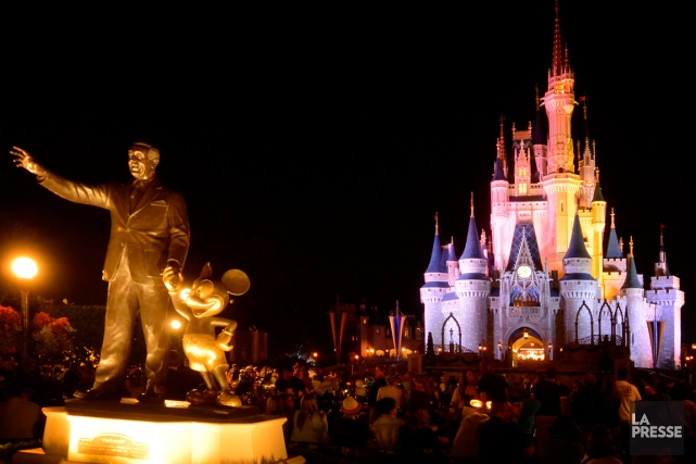 Le géant américain des médias et du divertissement Disney a annoncé lundi le... (PHOTO BERNARD BRAULT, ARCHIVES LA PRESSE)