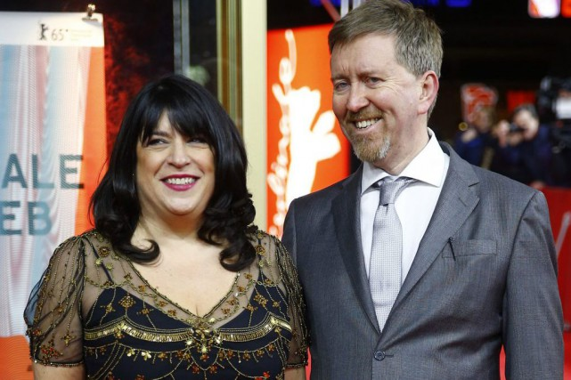 E.L. James et son mari Niall Leonard en... (Photo: archives Reuters)