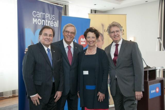 Guy Breton, L. Jacques Ménard, Louise Roy et...
