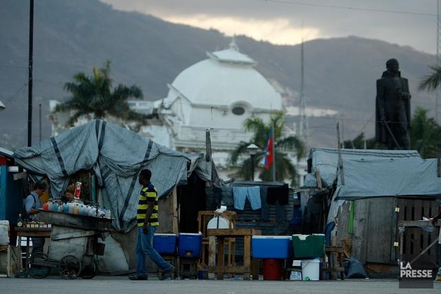 Le séisme en Haïti, en janvier 2010, a... (PHOTO MARTIN CHAMBERLAND, ARCHIVES LA PRESSE)