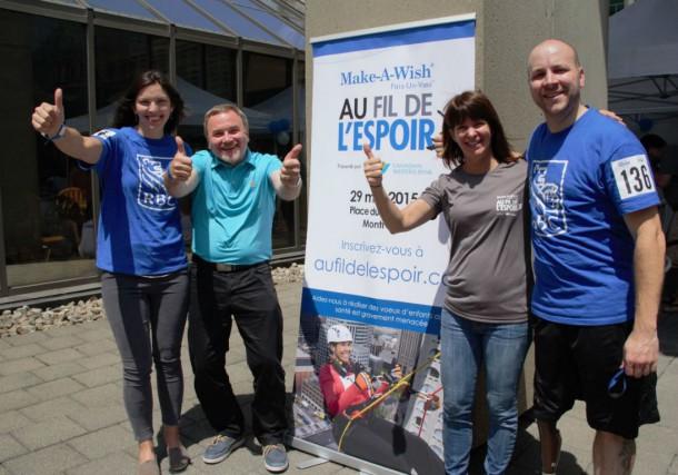 Caroline Calvé, Luc Filiatreault, Michelle Sylvestre et Benoit...