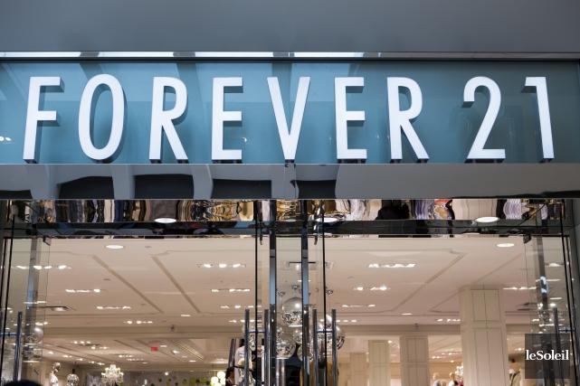 Le magasin Forever 21 des Galeries de la... (Photothèque Le Soleil)