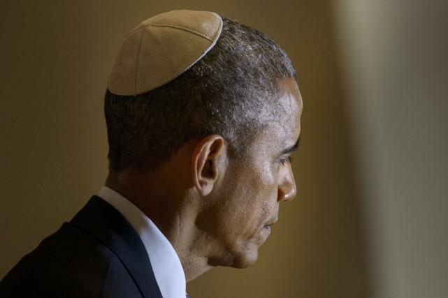 Barack Obama a livré un discours dans une... (Photo: AFP)