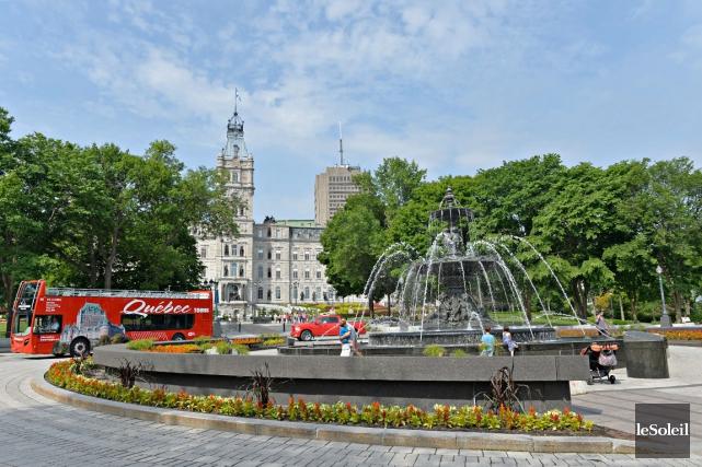 L'Office du tourisme de Québec veut s'attaquer cette... (Photothèque Le Soleil, Pascal Ratthé)