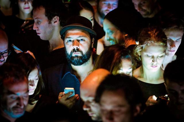 Mani Soleymanlou (au centre) a «vraiment hâte» de... (Photo Ulysse del Drago)