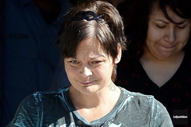 Valérie Duchesne n'a pas obtenu une deuxième chance... ((Photo Le Quotidien, Jeannot Lévesque))