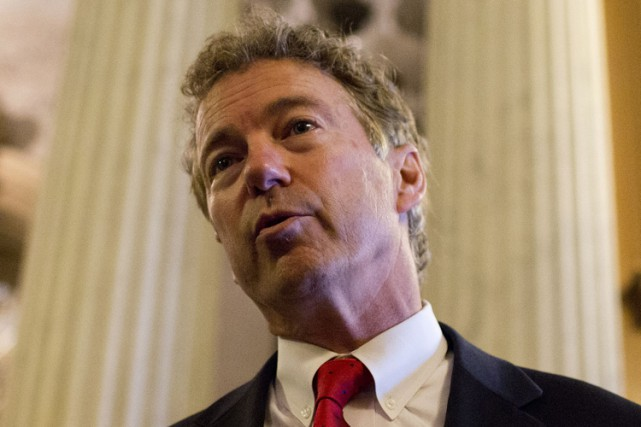 Rand Paul... (PHOTO AFP)