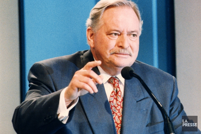 Jacques Parizeau, en 1995.... (PHOTO ARCHIVES LA PRESSE)