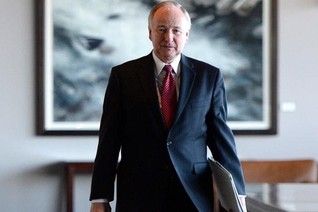 Le ministre canadien des Affaires étrangères, Rob Nicholson,... (PHOTOSEAN KILPATRICK, LA PRESSE CANADIENNE)