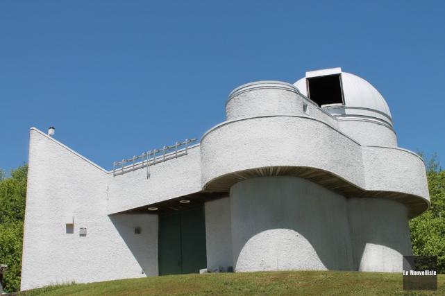 L'Observatoire du Cégep de Trois-Rivières.... (Photo: Archives, Le Nouvelliste)
