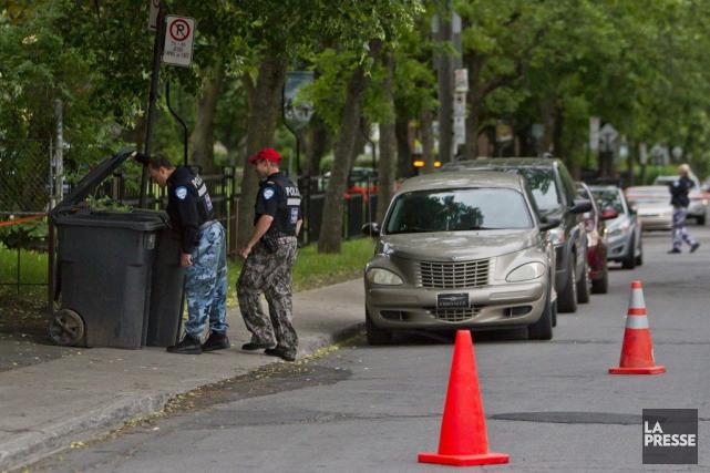 Plusieurs citoyens ont composé le 911 vers 19h00... (PHOTO FÉLIX O.J. FOURNIER, COLLABORATION SPECIALE)