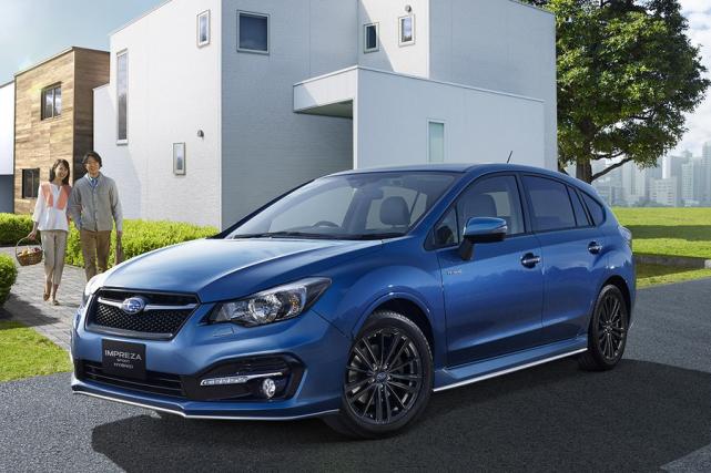 La version hybride de l'Impreza sera lancée au... (Photo fournie par Subaru)