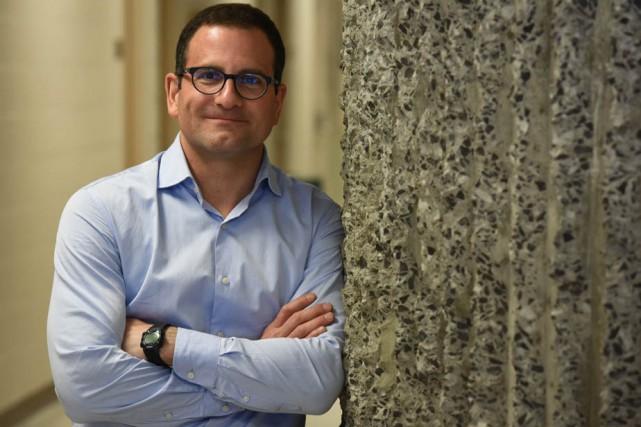 Le professeur en économie de l'UQTR, Frédéric Laurin.... (Photo: François Gervais, Le Nouvelliste)