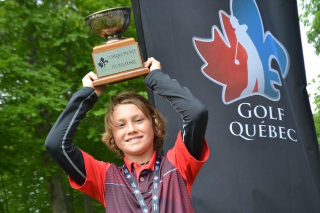 Jean-Philippe Parr a remis une carte de 77,... (Photo: Raphaël Guillemette, Golf Québec)