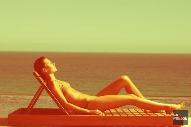 Le cancer de la peau est le type... (Photomontage La Presse)