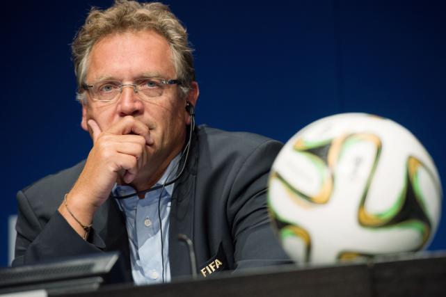 Le secrétaire général de la FIFA, Jérôme Valcke.... (Photo Sébastien Bozon, archives AFP)