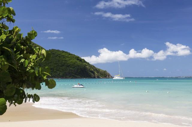 Saint-Martin, une île paradisiaque dans les Antilles, offre... (Photo Digital/Thinkstock)