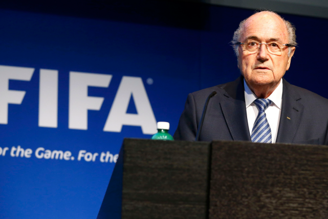 Sepp Blatter... (PHOTO RUBEN SPRICH, ARCHIVES REUTERS)