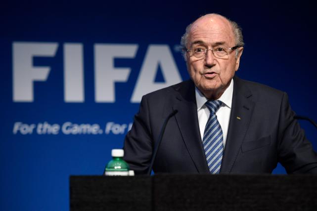 Sepp Blatter est le président de la FIFA... (Photo Ennio Leanza, AP)