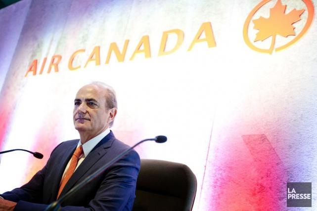 Le président et chef de la direction d'Air... (PHOTO MARCO CAMPANOZZI, ARCHIVES LA PRESSE)