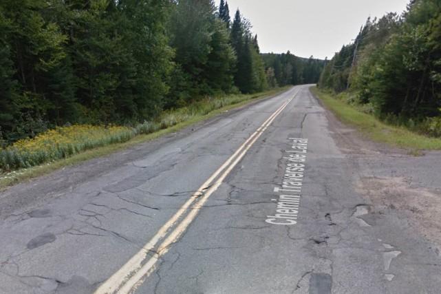 Le chemin de la Traverse, qui permet d'atteindre... (Google Street View)