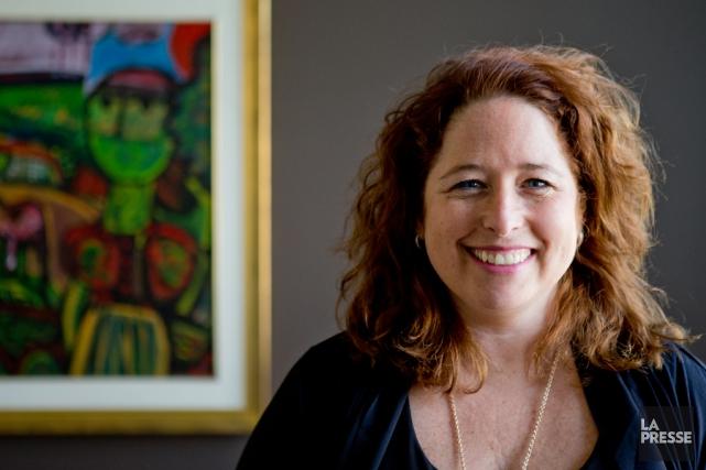 Isabelle Foisy, directrice générale de la Chambre de... (PHOTO MARCO CAMPANOZZI, LA PRESSE)