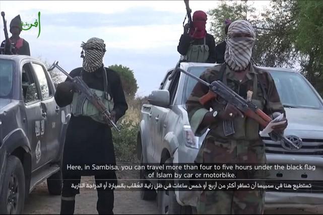 Boko Haram estdésormais affilié au groupe armé État... (Photo d'archives)