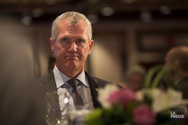 Le nouveau président-directeur général d'Investissement Québec (IQ), Pierre... (PHOTO IVANOH DEMERS, LA PRESSE)