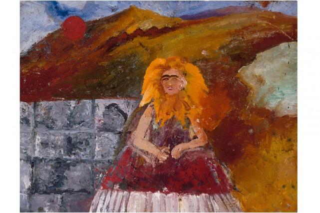 Un autoportrait de la peintre la voit métamorphosée... (Photo: ARS)
