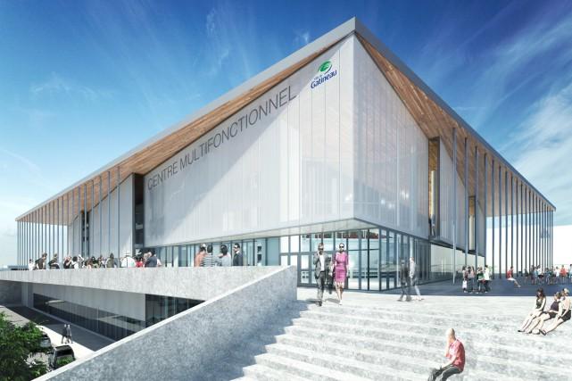 Le projet de centre multifonctionnel à Gatineau est officiellement mort et... (Illustration courtoisie)