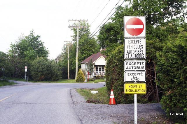 Depuis le 21mai dernier, la rue du Sommelier... (Etienne Ranger, Archives LeDroit)