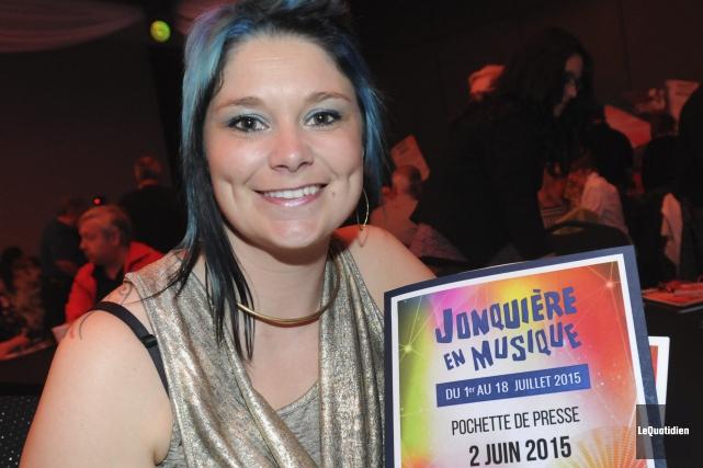 Jennifer Brassard, présidente de la 26e édition de... ((Photo Le Quotidien, Michel Tremblay))
