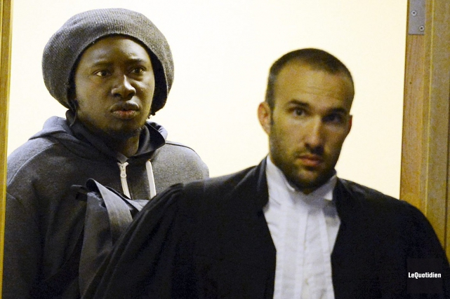 Me Julien Boulianne a été relevé du dossier... ((Photo Le Quotidien, Michel Tremblay))