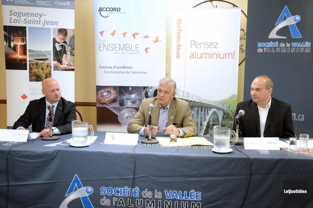 Hughes Lajoie, directeur du Bureau de développement économique... ((Photo Le Quotidien, Jeannot Lévesque))